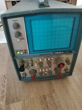 Vintage Tektronix T935a 35 Mhz Oscilloscope With Probe Untested As Is For Parts