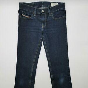 Diesel Livy Wash 008AA_Stretch W26 L32 blau Damen Designer Denim Jeans Hose Mode