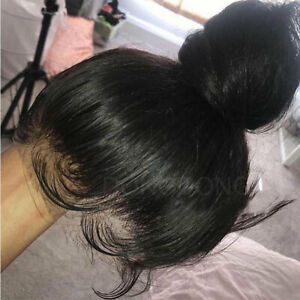 New-Unprocessed-Natural-Indian-Human-Hair-Wig-360-Lace-Frontal-Wig-Long-Straight