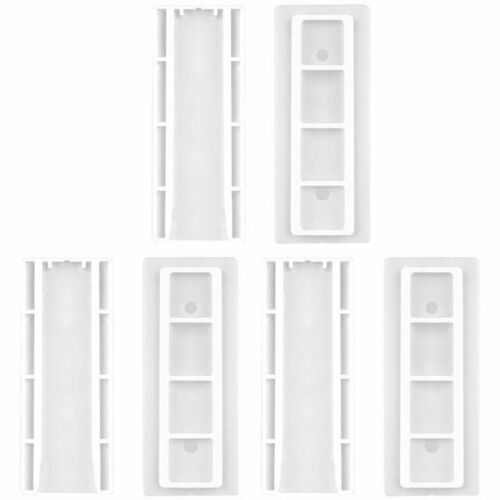 1//6Pcs Wall Hanging Patch Panel Wall Storage Plug Extension Socket Holder US