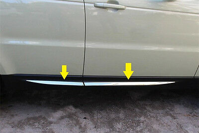 S.steel Bright Side Door Molding Trim Chrome Land Range Rover Sport 2014-2017