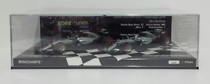 Precio al por mayor y calidad confiable. Minichamps 1 43 Set Mercedes W07 Costructor Warriors Of Of Of The World Champion 2016  punto de venta