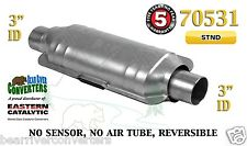 "Eastern Universal Catalytic Converter Standard Catalyst 3"" Pipe 14"" Body 70531"