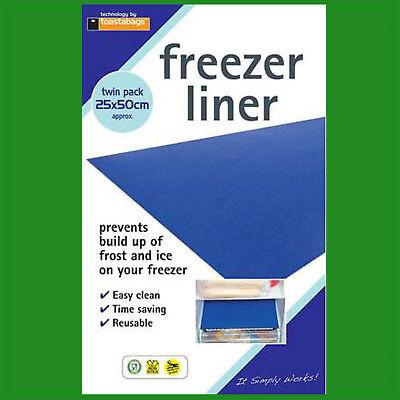 Frigoríficos Y Congeladores Hielo Build Up 2x Nevera Congelador Forro Cajón Felpudo Anti Escarcha Electrodomésticos
