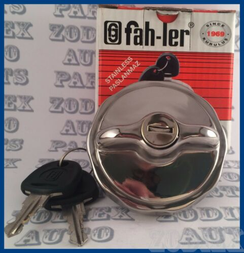 FORD Locking Stainless Steel Fuel Tank Cap Gas Cap Filler Cap MGB MG MINI