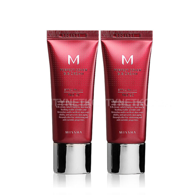 [MISSHA] M Perfect Cover BB Cream (SPF42/PA+++) [Limited] 2 Color 20ml