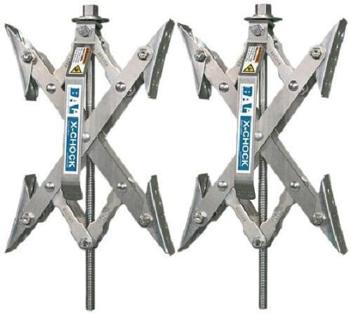 28012 One Handle X-Chock Wheel Stabilizer Pair