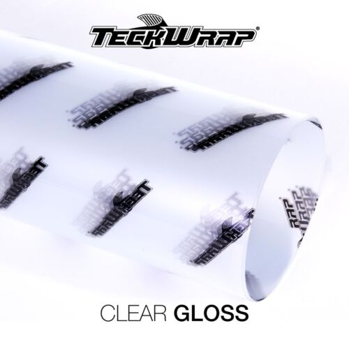 Paint Protection Vinyl TeckWrap Vinyl Clear Adhesive 1520mm & 750mm TRIPLE LAYER
