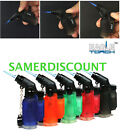 5 Pack 45 Degree Angle Jet Flame Butane Torch Lighter Refillable Windproof, NEW