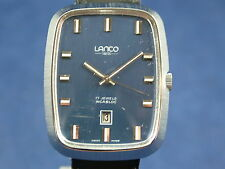 Vintage Lanco Gents Mechanical Watch 1960S NOS Brand New Old Stock