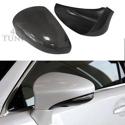 UP Carbon Fiber Rear View Side Mirror For Lexus ES IS LS CT GS RC//RCF LHD 2011