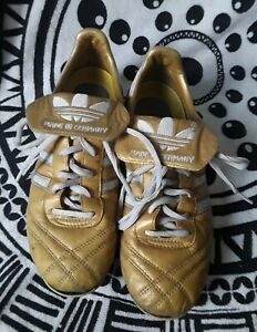 Adidas-Profi-Liga-Copa-K-Made-Germany-US-5-Rare-FG-Gold-Limited-edit-shoes