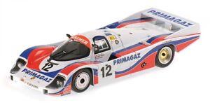 Porsche 956l Primagaz Équipe Kramer Yver Cohen Olivar 24h Le Mans 1986 1:43
