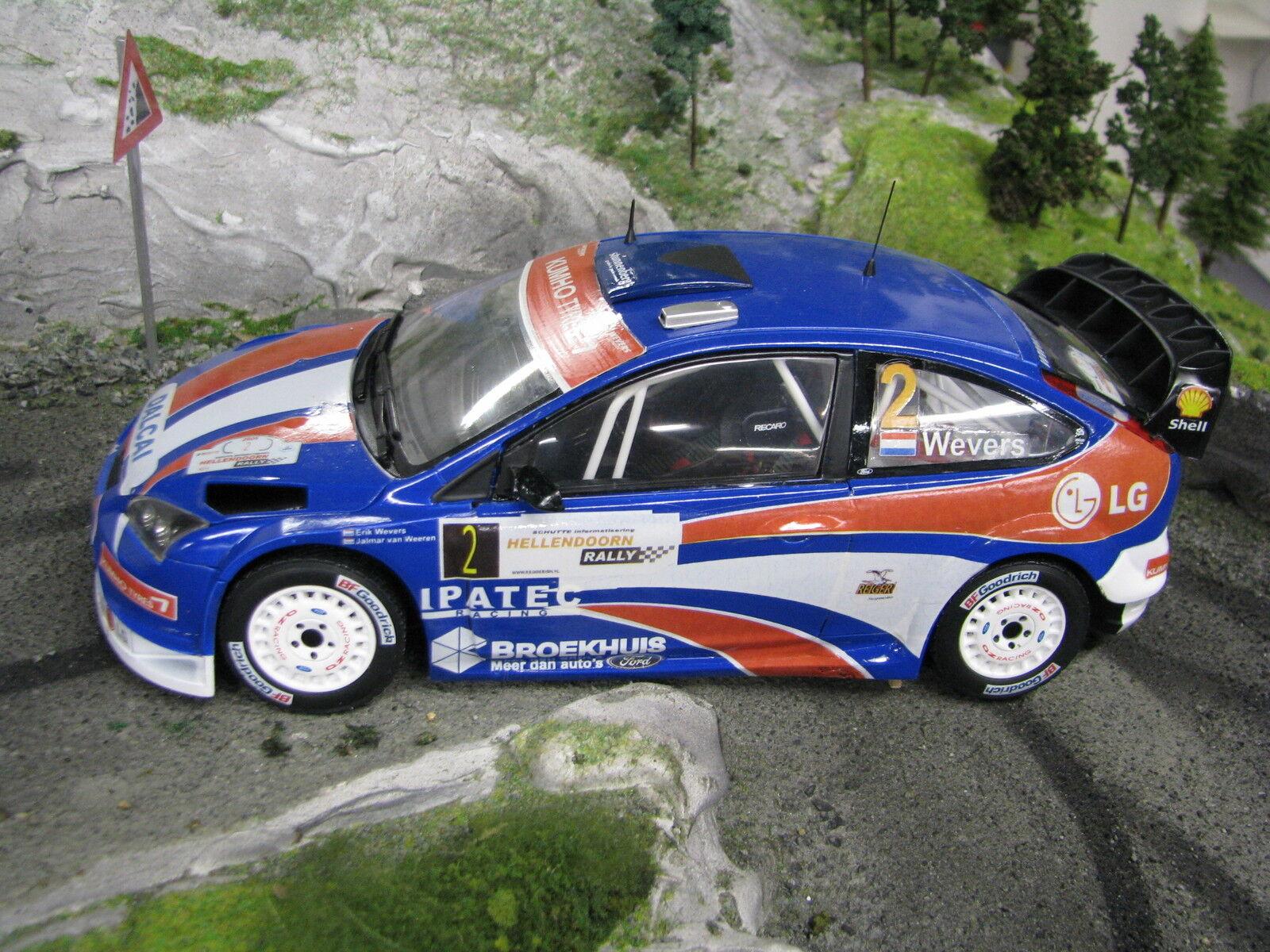 Sun Star Ford Focus RS WRC 06 1 18  2 Wevers   van Weeren Hellendoorn Rally 2009