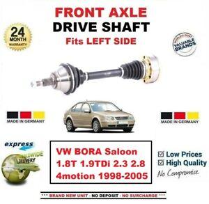 Pour-VW-Bora-Berline-1-8T-1-9TDi-2-3-2-8-4motion-1998-2005-avant-Gauche-Arbre