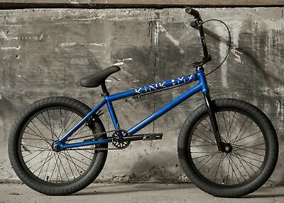 BMX BIKE GLOSS RAW HOLOGRAPHIC 2020 KINK LAUNCH COMPLETE BMX BICYCLE