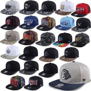 47-Brand-Snapback-Cap-NHL-Unisex-Kappe-Blackhawks-Kings-Ranger-Stars-Penguins-2