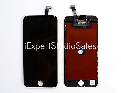 New Black LCD for Apple iPhone 6 Display Touch Screen Digitizer Frame 4.7""