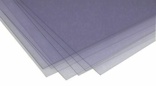 200x297mm tamaño impar Hojas De Acetato De Pvc//140 micras de 100 a 1000 Hojas Careta
