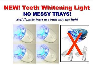 FOUR-NEW-LED-BLUE-LIGHTS-ACCELERATOR-WHITE-LIGHT-NO-MESSY-TRAYS-FREE-SHIPPING