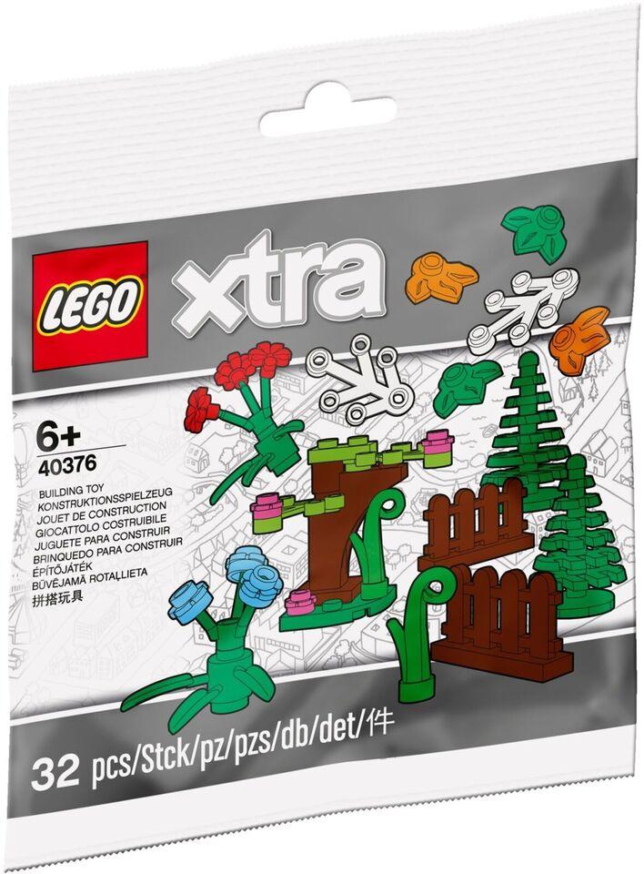 Lego Exclusives, xtra 40376 Plantetilbehør UÅBNET
