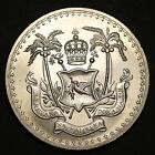 1970 Fiji Dollar Independence $1 KM# 33a Silver Proof Scarce 1000 Minted