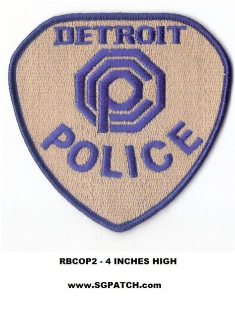 Robocop Patch Picture Embroidered Border Murphy OCP Police Detroit Omni Consumer