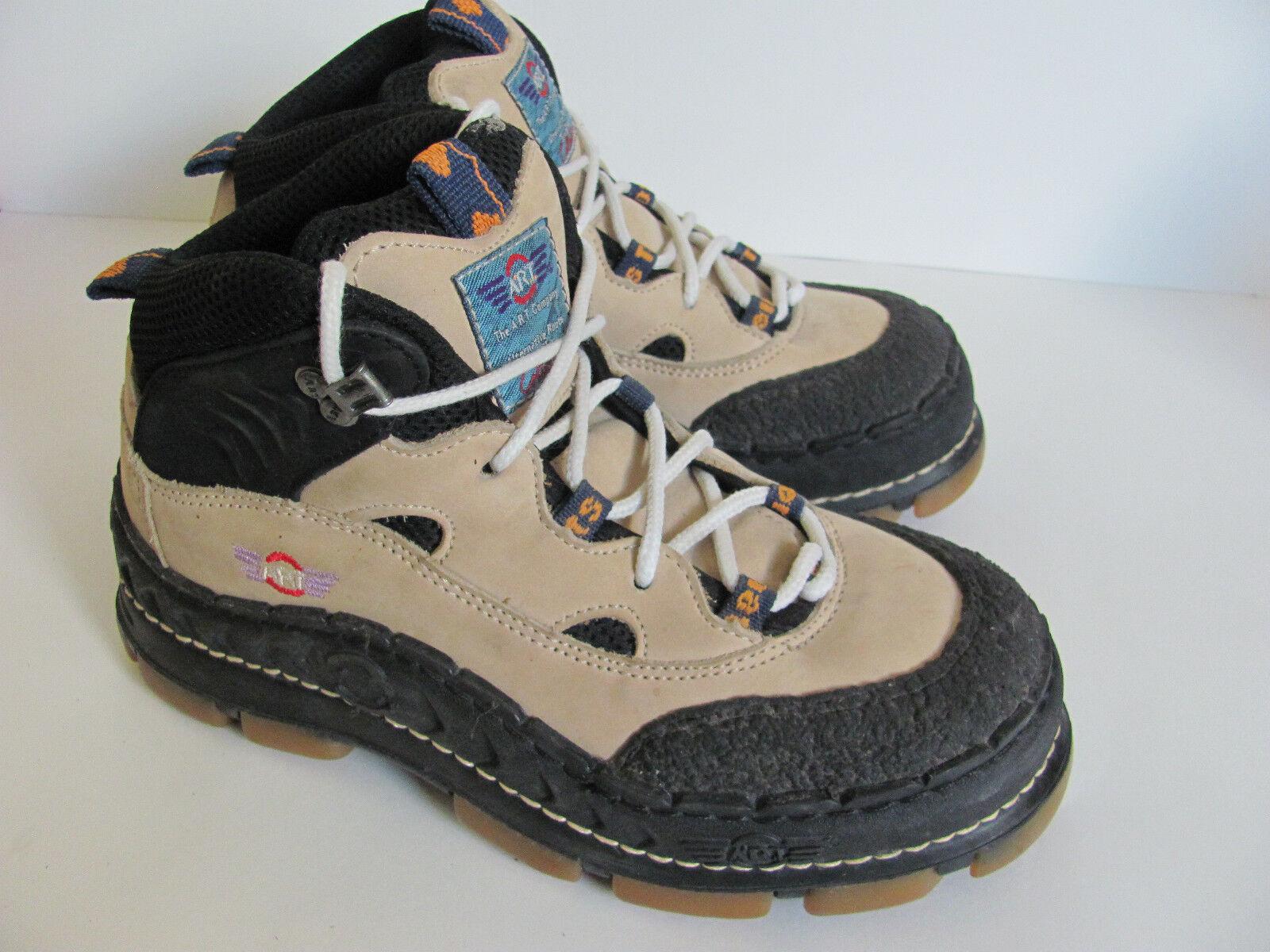 The ART D.A.S.  Lace Up Hiking Trail Boots,  Men's 7, Euro 40 Spain  Marten