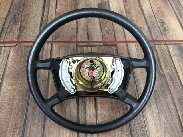 Mercedes Benz W126 OEM Leather Steering Wheel AIRBAG 420mm S Class