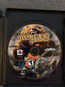 Cabela's Dangerous Hunts 2009 (Sony PlayStation 3, 2008)(DISC ONLY) #12775
