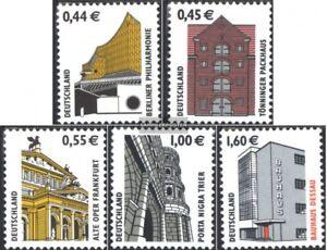 BRD-BR-Deutschland-2298-2302-kompl-Ausg-gestempelt-2002-Sehenswuerdigkeiten