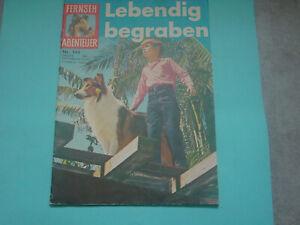 Fernseh-Abenteuer-Lassie-Comicheft-Nr-144-von-1959-1964-alt-selten-top