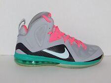 Nike Lebron 9 IX P.S. Elite South Beach SZ 11.5 516958 001 PS Pre Heat Miami