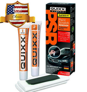 quixx best paint scratch remover kit buffing out scratches car mending repair ebay. Black Bedroom Furniture Sets. Home Design Ideas