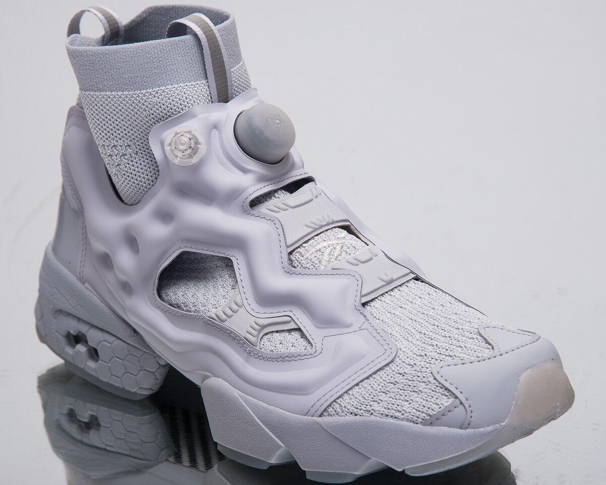 Reebok Instapump Fury Ultraknit para hombres zapatos de estilo de vida OG gris Zapatillas CN3799