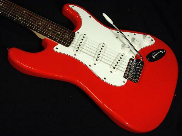 Squier Affinity Stratocaster Race rot  R rare useful EMS F S