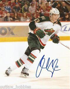 Minnesota-Wild-Charlie-Coyle-Signed-Autographed-8x10-Photo-COA