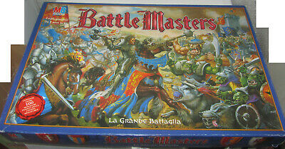 Battle Master Gioco Da Tavolo Epic Fantasy Battaglia Guerra Miniature Citadel