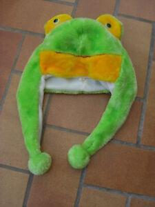 bonnet peluche grenouille déguisement carnaval parfait état