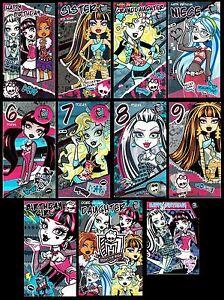 MONSTER-HIGH-OFFICIAL-BIRTHDAY-CARDS-Great-selection-to-Choose-from-L-K