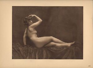 Heliogravure-Walery-Laryew-Nu-1925-Planche-Nr-XIX