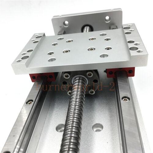 300mm Heavy Load X Y Z Axis Sliding Table Cross Slide SFU1605 Ballscrew CNC DIY