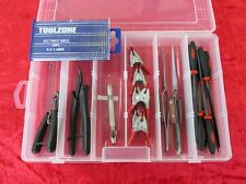 Box Set 5 Modelo Artesanal Tool Kit Tren Pista Corte Tijeras & creación de modelos de reparación