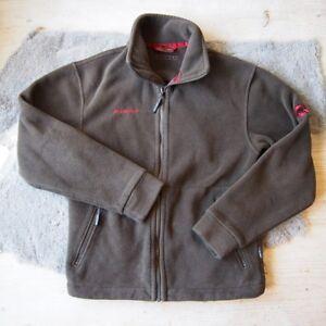 huge selection of 8d148 6bef0 Details zu MAMMUT OUTDOOR Fleecejacke Gr. S 44 46 Braun Jacke Jacket Zipin  System Fleece