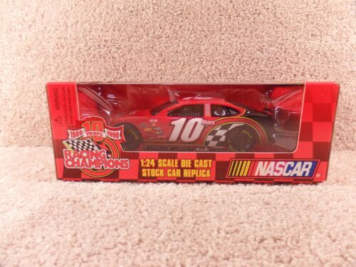 New 1999 Racing Champions 124 NASCAR Red 10 Year Anniversary Ford Taurus