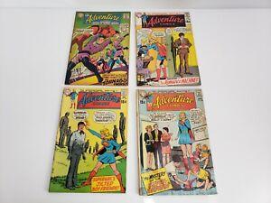 Vintage-DC-Comics-Adventure-Comics-Mixed-Lot-Of-4-1968-1970-USA