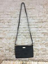 Tommy Hilfiger Black Canvas Cross Body Bag