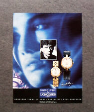 [GCG] I095- Advertising Pubblicità - RODOLPHE BY LONGINES