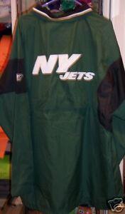 Open-Minded New Men's Clothing New York Jets Windbreaker Jacket Coat S Green
