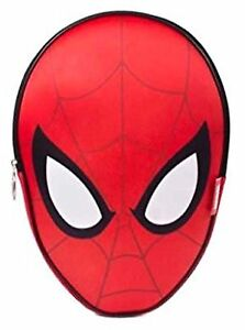 Spiderman-Official-3D-Head-Shaped-Lunch-Bag-Brand-New-amp-Sealed